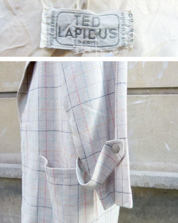 Blazer de Ted Lapidus de corte sport