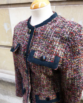 Chaqueta de Tweed estilo Chanel