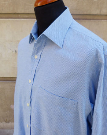Camisa Royal Oxford azul de Valentino 1990s Valentino EWxecutive Royal Oxford Shirt
