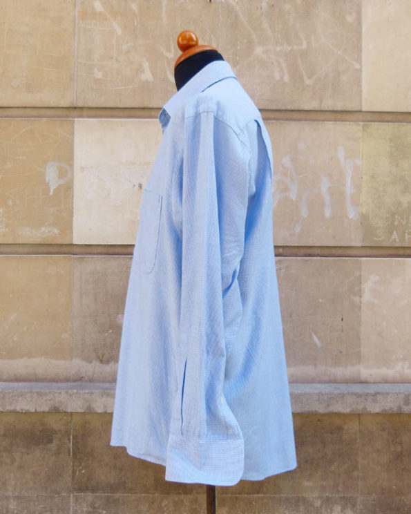 Camisa Royal Oxford azul de Valentino 1990s Valentino Executive Royal Oxford Shirt