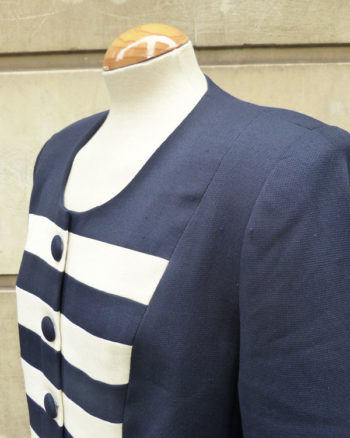 Blazer de estilo marinero 90s Sailor Styled Woman Jacket