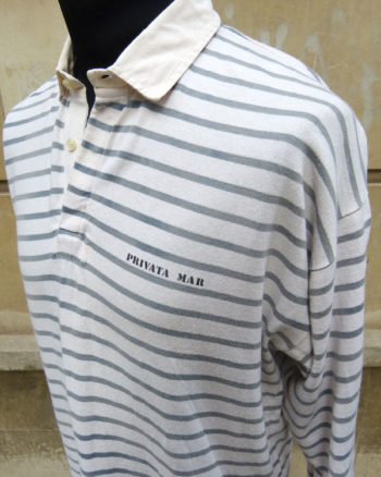 Polo marinero Privata de manga larga Sailor Styled Rugby Shirt by Privata