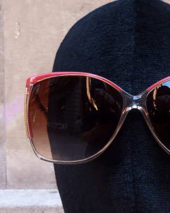 Gafas 70's /80's de Lancôme Oversized Sunglasses from the 1970s/80s