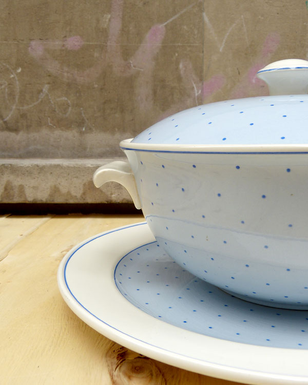 Tureen and Plate by Villeroy & Boch, Linz series