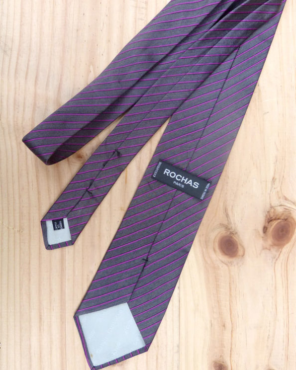 Executive necktie by Rochas