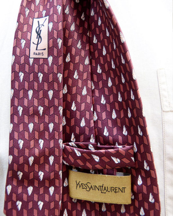 Corbata Yves Saint Laurent