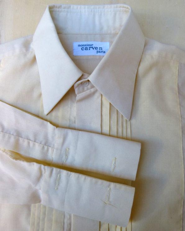 Tuxedo shirt by parisian brand Carven
