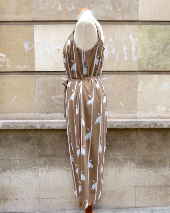 Bamboo print dress and jacket set by von Gässler