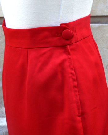 Vermilion Moschino Couture Skirt