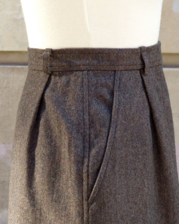 1970s Yves Saint Laurent Rive Gauche Skirt