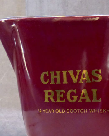 1980s Small Water Jar by Chivas Regal