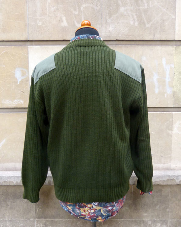 Army style Sweater