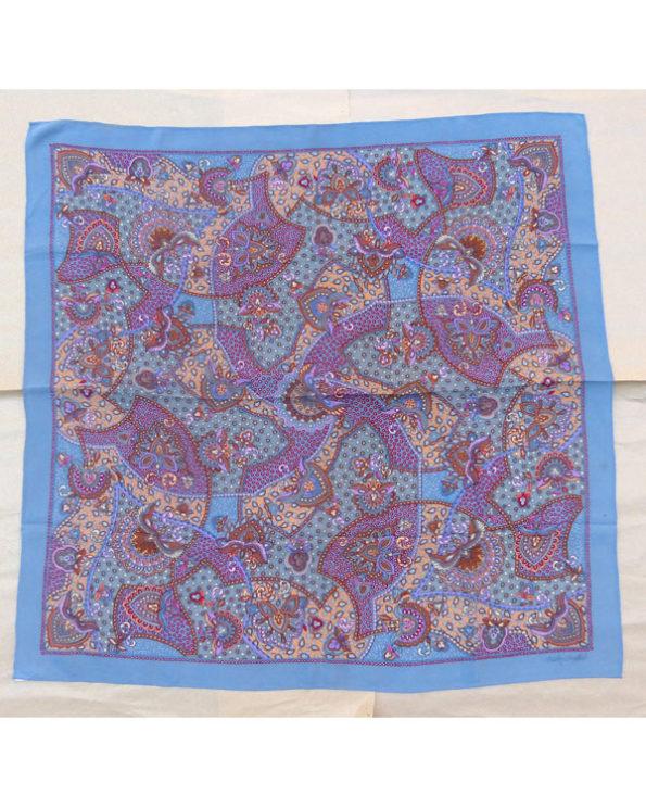 Pañuelo de Seda Fisba Stoffels con dibujos cachemira