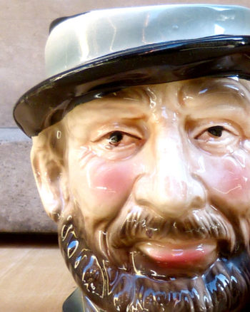 Old Timer Face Toby Jug