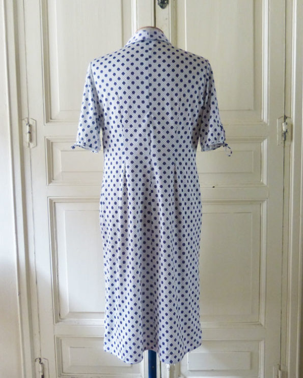 70s Polka Dots Dress
