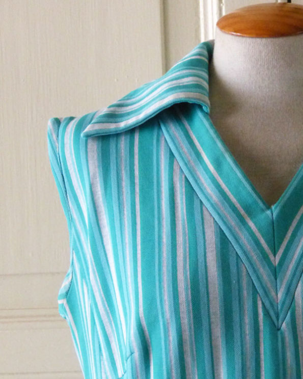 Striped Beach Dress from the 70s