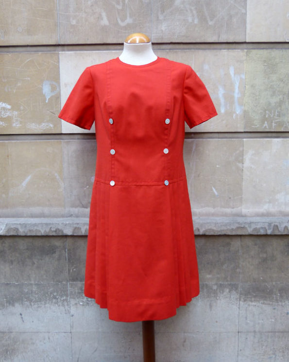 1960's Sailor Styled Dress