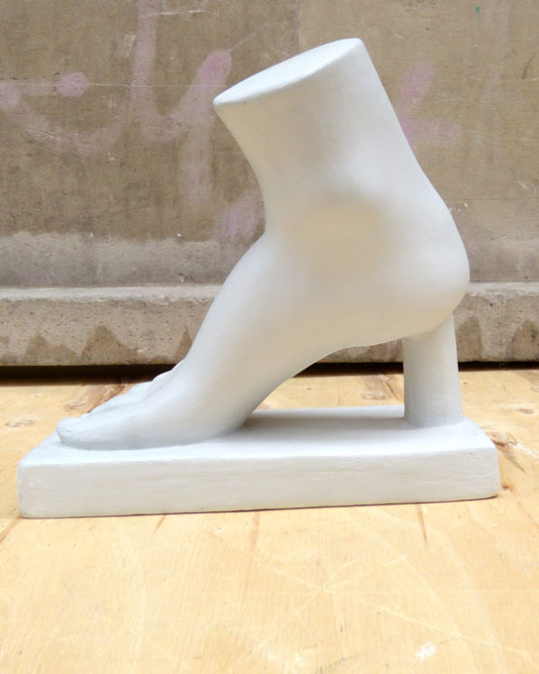 Antique Classic Foot Drawing Model