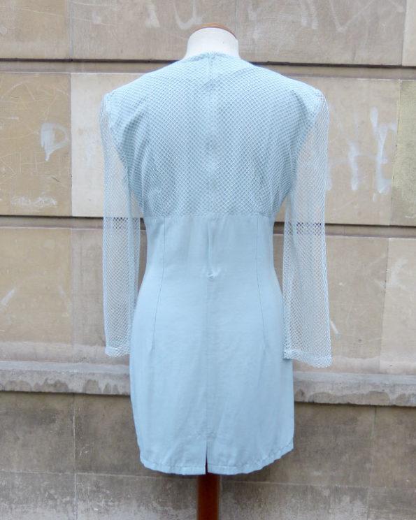 Mini Vestido 90's con rejilla.